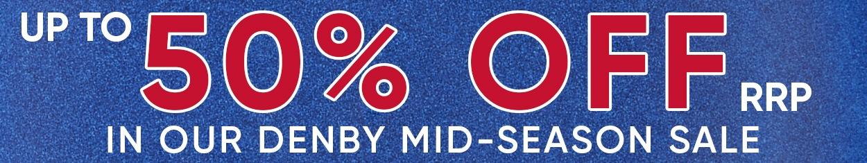 Denby Mid-Season Sale