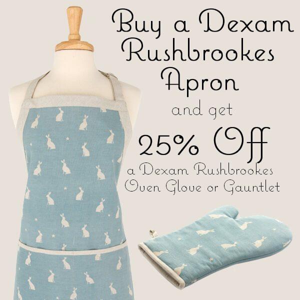 Dexam Rushbrookes Apron & Glove Offer