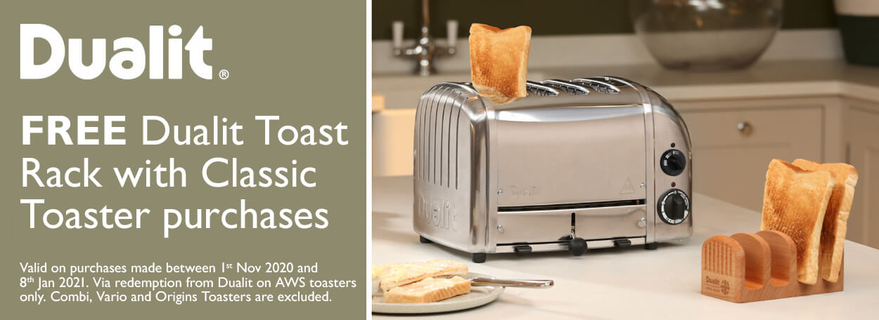 Dualit Classic Toaster Promo Christmas 2020