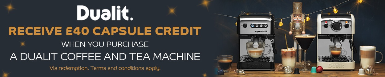 Dualit Coffee Machines Offer
