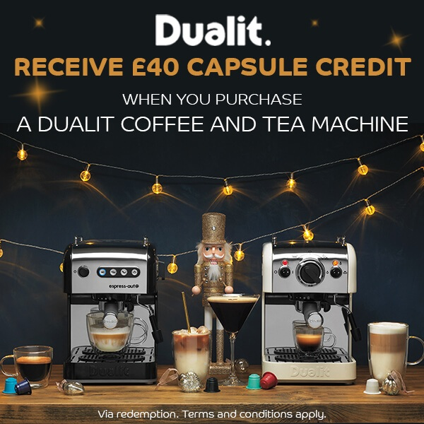Dualit Coffee Machines Promotion