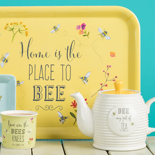 English Tableware Company Bee Happy