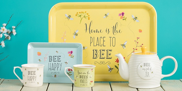 English Tableware Company Bee Happy