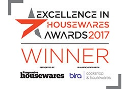 Excellence in Housewares Winner 2017