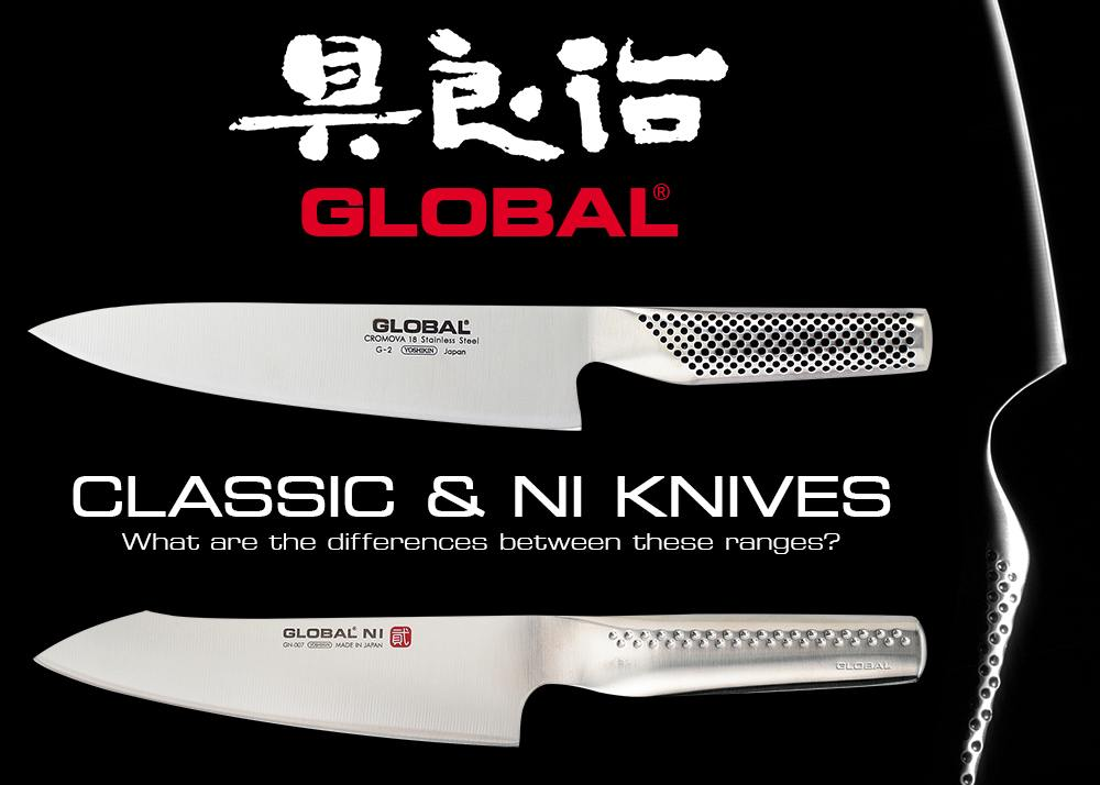 Global Knives - Classic and Ni