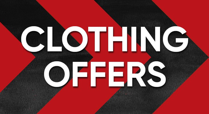 Clothing offers