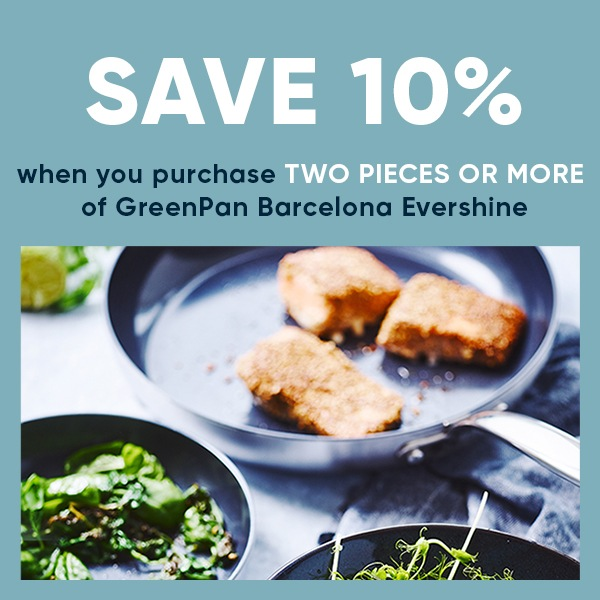 GreenPan Barcelona Evershine - Buy 2 Or More For 10% Off