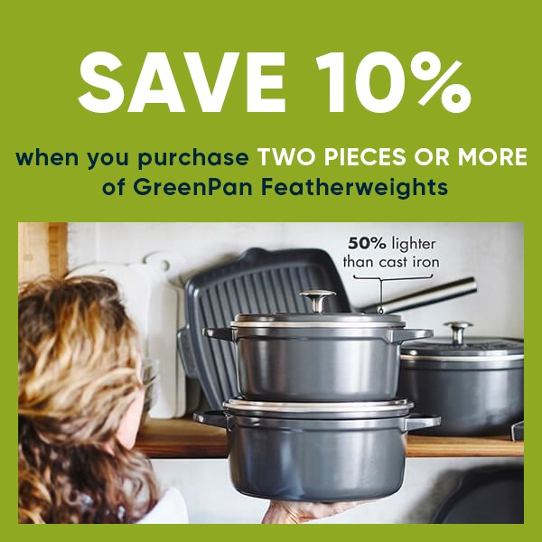 GreenPan Featherweights - Buy 2 Or More For 10% Off