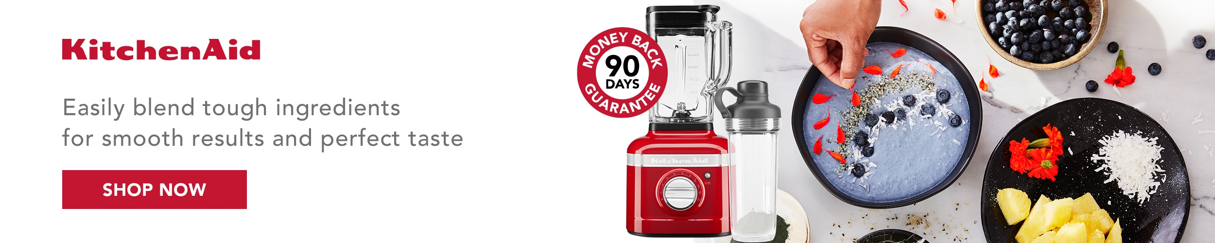 KitchenAid K400 Blender Terms & Conditions