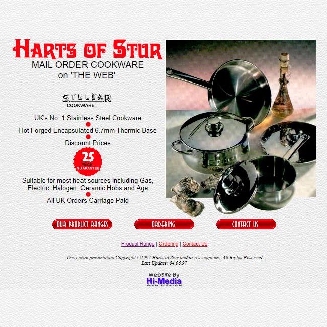 Harts Website