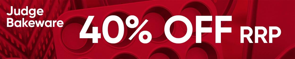 40% Off Judge Bakeware