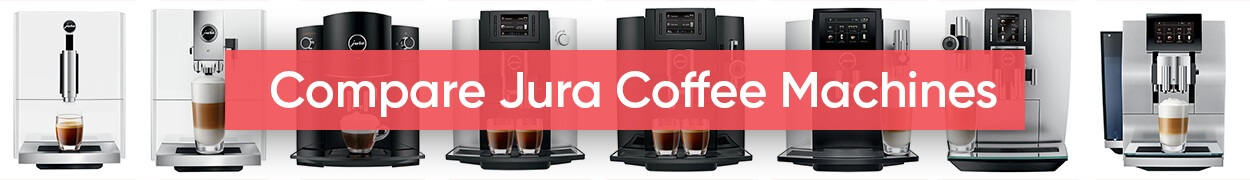 Compare Jura coffee machines