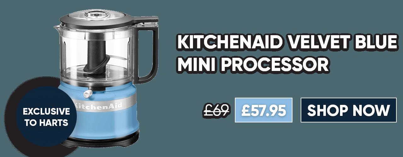 KitchenAid Velvet Blue Mini Processor