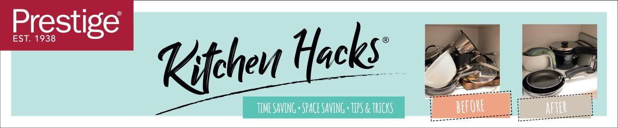 Kitchen Hacks - Time Saving, Space Saving, Tips and Tricks