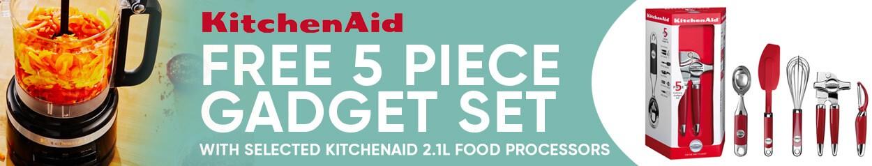 KitchenAid Food Processor 100 Year Baking Set Promo