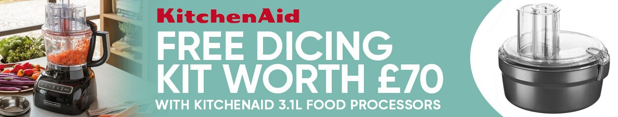 KitchenAid Food Processor 100 Year Culinary Set Promo