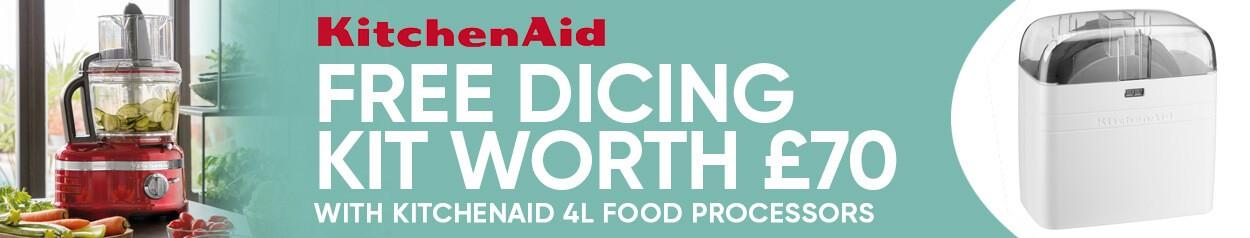 KitchenAid Food Processor Free Dicing Kit Offer