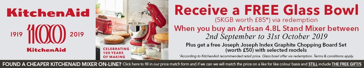 KitchenAid Artisan Mixer Promo