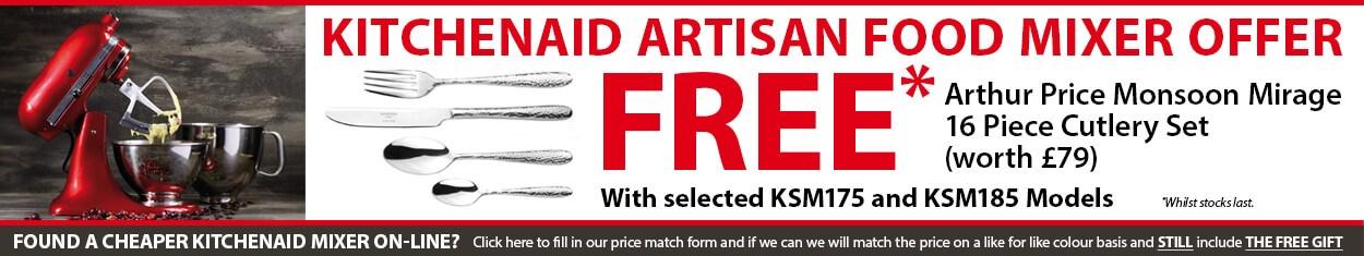 KitchenAid Artisan Mixer Offer