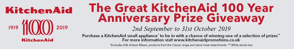 KitchenAid 100 Year Anniversary Prize Giveaway