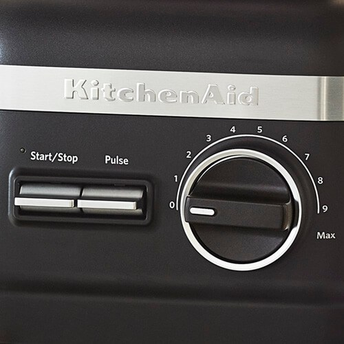 KitchenAid High Performance Blender Controls