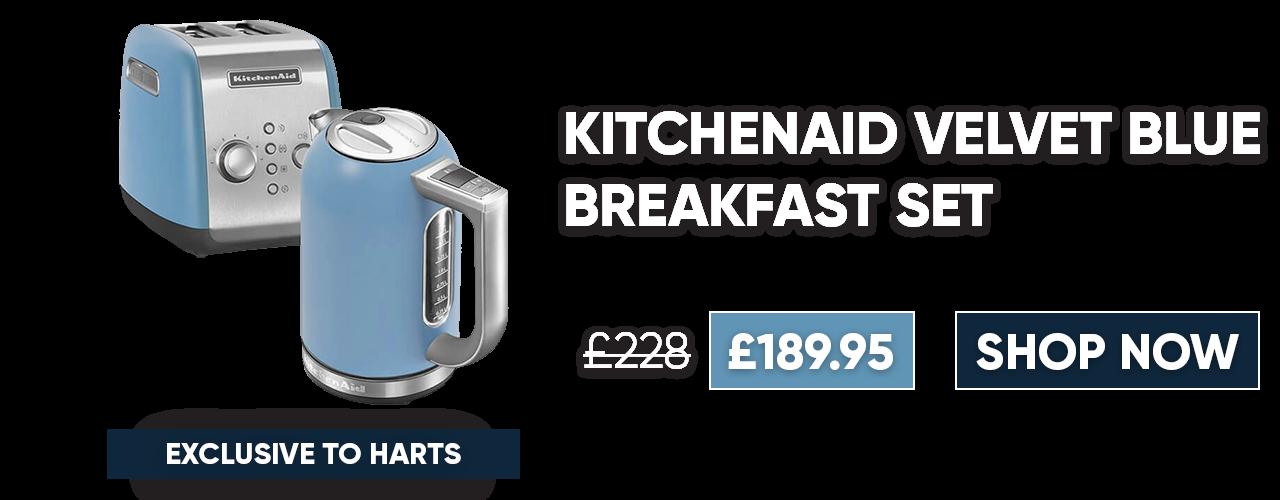 KitchenAid Velvet Blue Breakfast Set