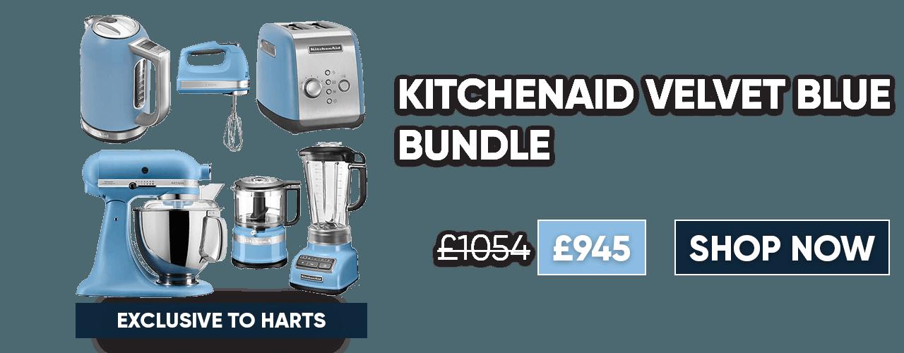 KitchenAid Velvet Blue Bundle