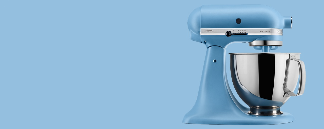 KitchenAid Velvet Blue Stand Mixer