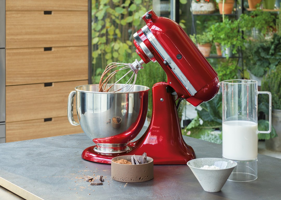 The iconic KitchenAid Artisan Food Mixer