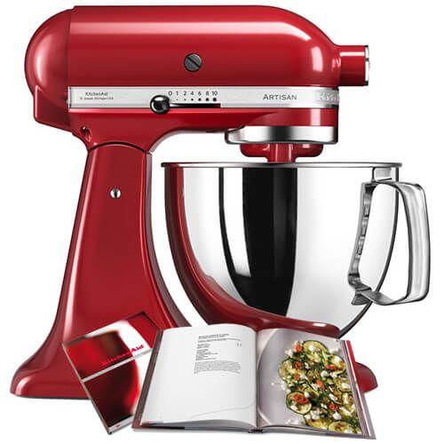 KitchenAid 125 Empire Red Mixer