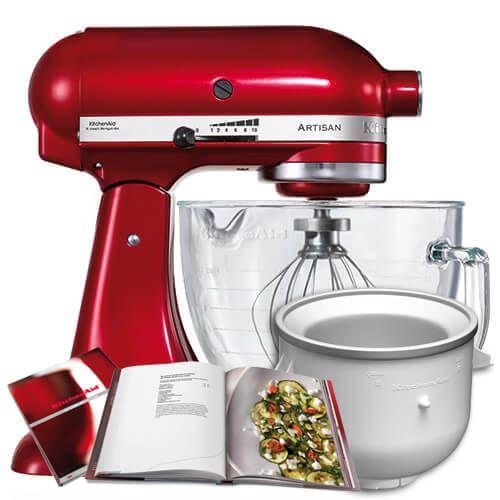 KitchenAid 156 Candy Apple Mixer