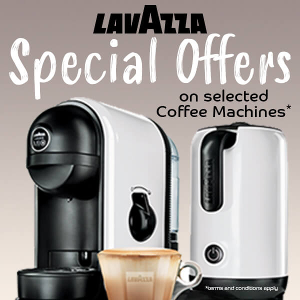 Lavazza Coffee Machine Promotion