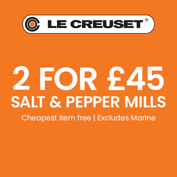 Le Creuset 2 For £45 Mills