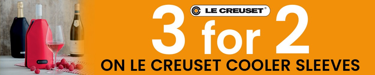 Le Creuset Wine Cooler Sleeves 3 For 2