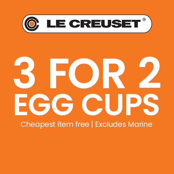 Le Creuset 3 For 2 Egg Cups