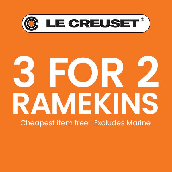 Le Creuset 3 For 2 Ramekins