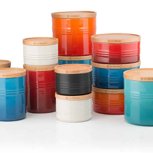 Le Creuset Storage Jars 3 for 2