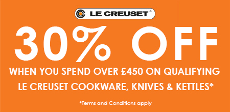 Le Creuset - Spend £450+ On Le Creuset For 30% Off