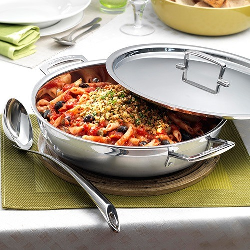 Le Creuset 3 Ply Stainless Steel