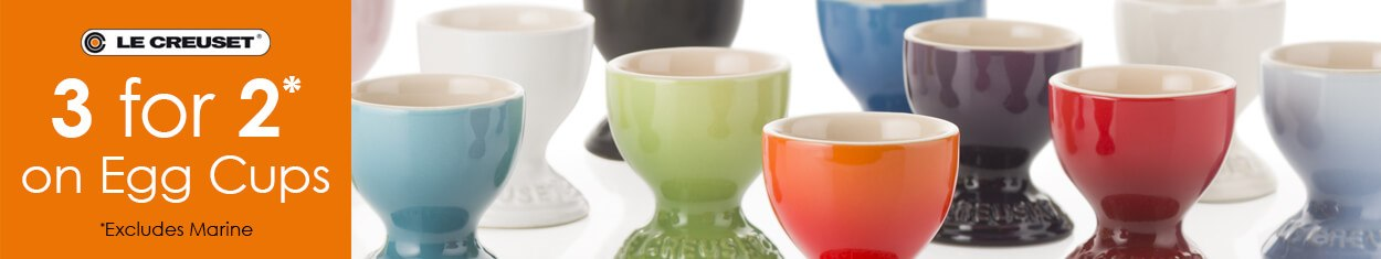 Le Creuset Egg Cups 3 For 2
