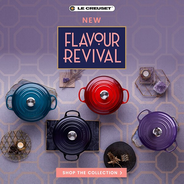 Le Creuset Flavour Revival