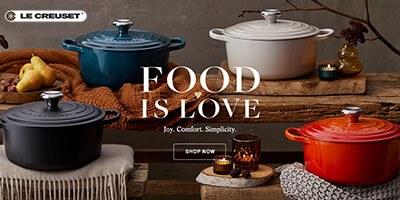 Le Creuset Food Is Love