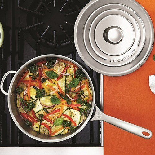 Le Creuset Signature 3 Ply Stainless Steel