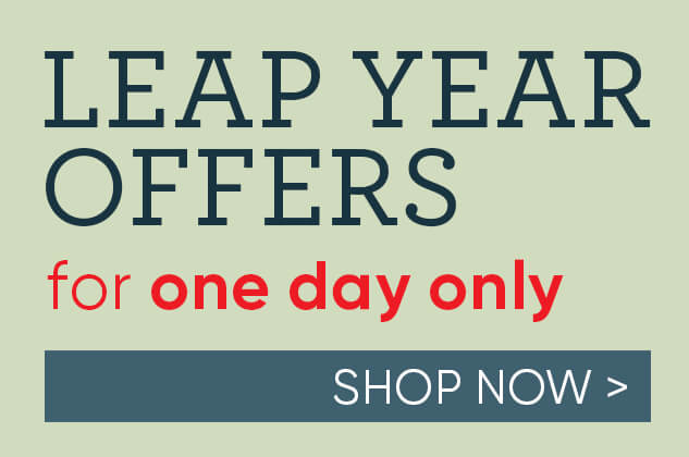 Harts Leap Year Offers