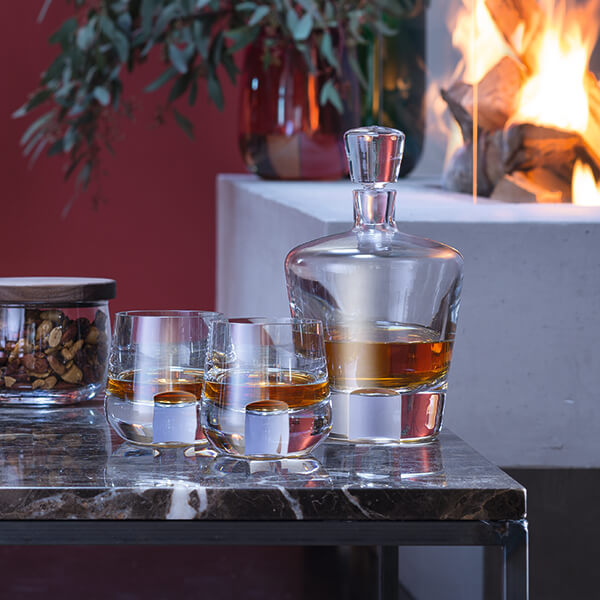 LSA Whisky Cut Glassware