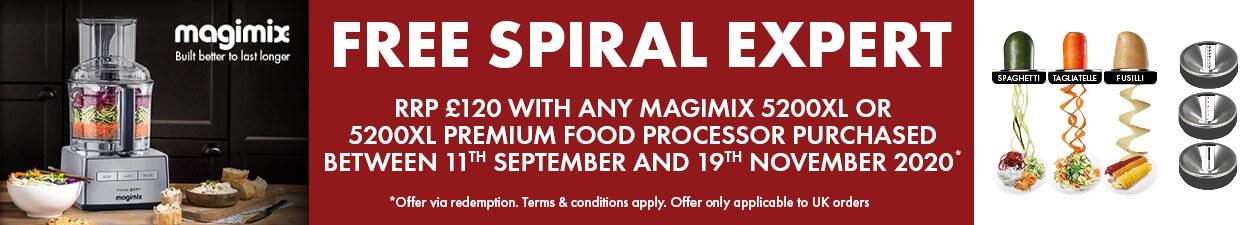 Magimix Spiral Expert Promotion