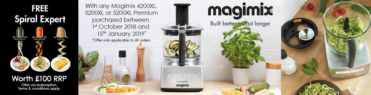 Magimix Promo Offer Banner