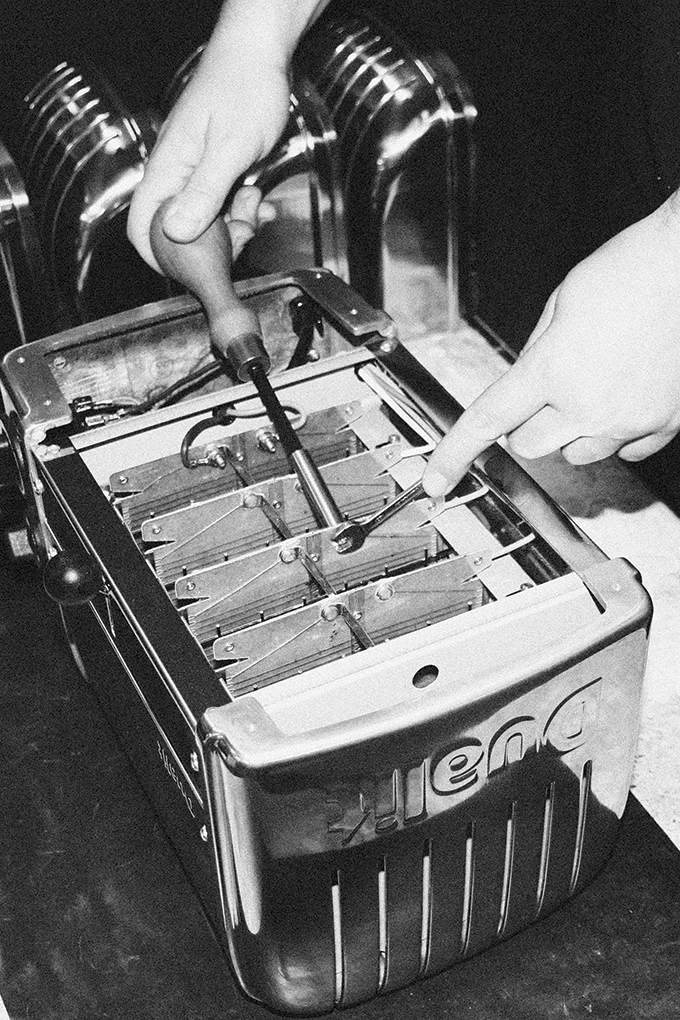 Making a toaster - assembling
