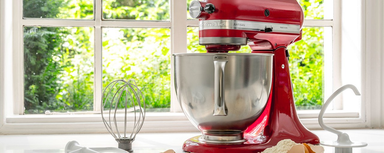 KitchenAid Artisan Mixer and attachments