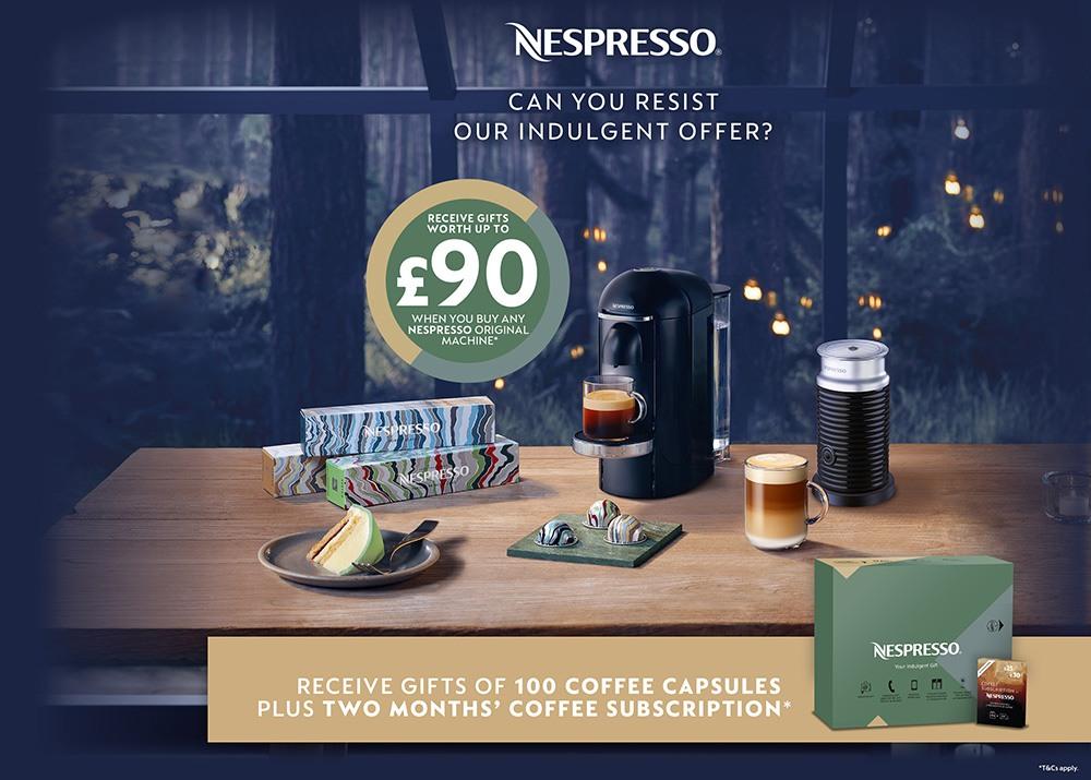 Nespresso Promotion Image